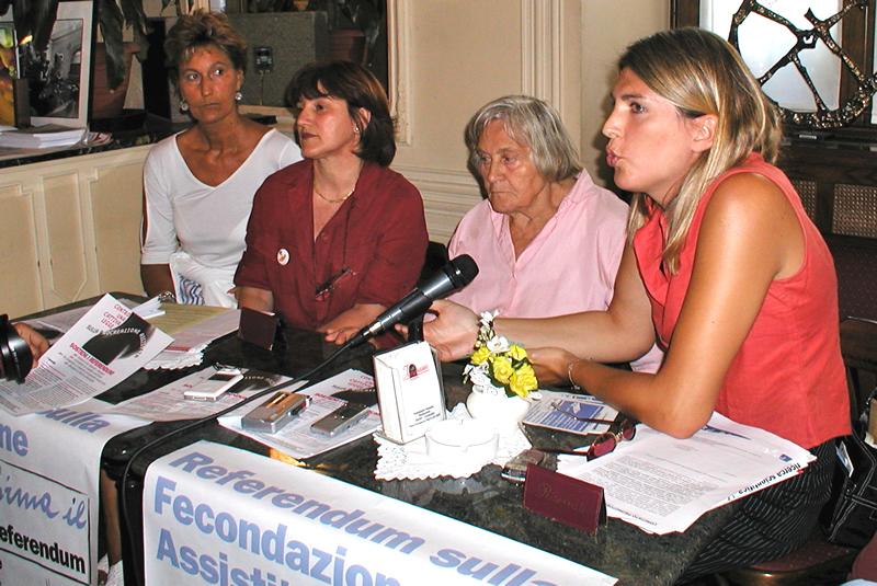 Referendum fecondazione assistita: conferenza stampa con Margherita Hack